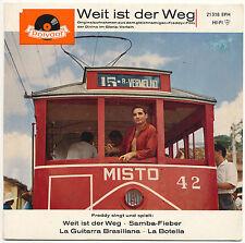 """7"""" EP - Freddy - Weit ist der Weg - Polydor 21318 EPH - DE 1960"""