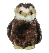 "Douglas Moon Light OWL 7"" Plush Brown Bird Stuffed Animal Toy NEW"