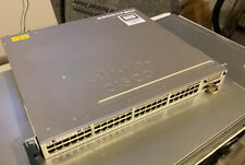 Cisco Catalyst Ws-C3850-48F-S PoE 48-Port Rack-Mountable Switch