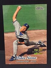 HIDEO NOMO 1997 Fleer Sports Illustrated EXTRA EDITION Card SP Ser #d /500 HTF