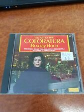 The Art Of The Coloratura Beverly Hoch Music CD (16837)