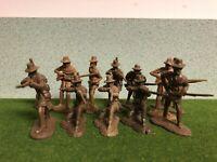Barzso Playset Battle Of New Orleans Kentucky Militia War 1812 Lot