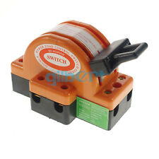 2 Pole 100a Double Throw Knife Disconnect Switch For Power Transfer 380v