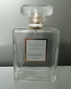 Chanel Coco Mademoiselle Perfume Empty Bottle 100ml