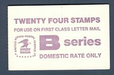 BK136 Eagle B Stamps Booklet Of 24 Mint Nh Selling Face
