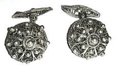 Antike Manschettenknöpfe Filigran Silber Friesland Altes Land Trachten