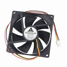 5pcs 92mm 3.5 inch 12V 3Pin 92x25mm Sleeve Brushless DC Cooler CPU Cooling Fan