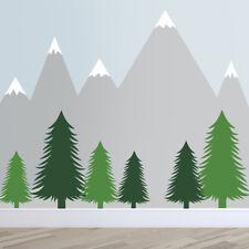 Fir Tree Wall Stickers – Woodland Wall Stickers – Tree Wall Stickers – Pine Tree