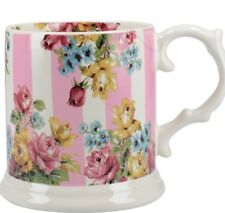 Pink Stripe Cup/Mug Tea/Coffee