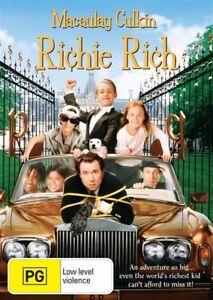 Richie Rich DVD Macaulay Culkin New and Sealed Australian Release