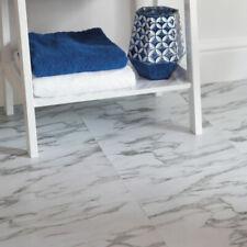 D-C-Floor Self Adhesive Vinyl Floor Tiles White Marble - pack of 11 tiles 1SQM