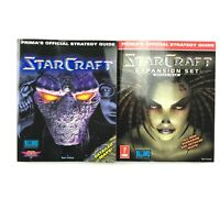 Prima Official Strategy Guide Starcraft And Expansion Book