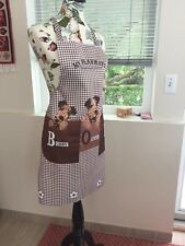 Kitchen Apron With Pokets With Dogs