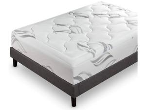 "ZINUS 12"" Cloud Memory Foam Mattress Pressure Relieving Bed-in-a-Box Queen"
