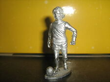 METAL CAST FIGURA DI CALCIO GEORGE BEST 2