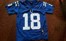 Reebok Youth NFL Indianapolis Colts Peyton Manning Jersey New Small Nice