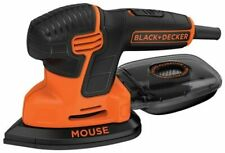 BLACK+DECKER Mouse Detail Sander, Compact Detail - BDEMS600 - NEW, FREE SHIPPING