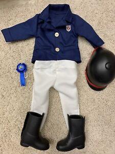 Battat Doll Horse Riding Equestrian Jacket Navy Blue