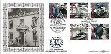 Guernsey 1995 aniversario de la liberación en Benham GL40 FDC
