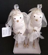 Silvestri Enchanted Bird Wedding Cake Topper Ornaments 2 Brides Same Sex