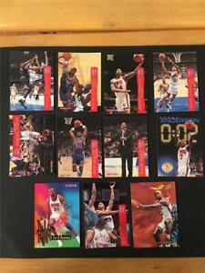 1995/96 NBA Hoops New Jersey Nets Team Set 11 Cards