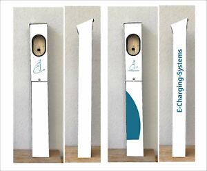 Ladesäule/Stele/go-e/Fronius Watt-Pilot-indiv. Digitaldruck und folierbar