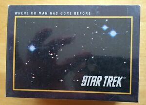 COMPLETE SET STAR TREK 25th ANNIVERSARY SERIE 1 - 160 TRADING CARDS NEUF MINT