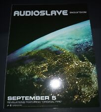 Audioslave~Revelations~Ch ris Cornell~Promo Window Cling~9x11~Soundgarden~20 06