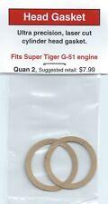 Super Tiger, Tigre G-51 Cylinder Head Gasket 2 Pack NIP