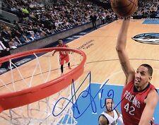 Alexis Ajinca New Orleans Pelicans Autographed Signed 8x10 Photo w/ LOM COA