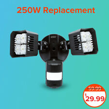 (Used) SANSI LED Security 250W Qquiv Light Motion Sensor Floodlight Outdoor 36W