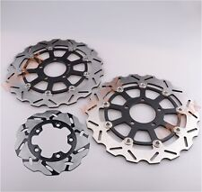 US Front Rear Brake Disc Rotor For Suzuki GSXR600/750 2004-2005 GSXR1000 03-04