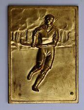 Congo Katanga medal médaille Federum Union Minière UMHK mines hockey Sengier1955