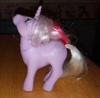 My Little Pony Vintage Unicorn Powder NEAR MINT glittery symbols G1