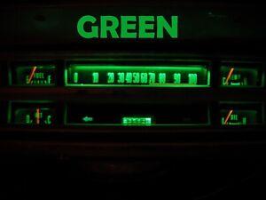 Gauge Cluster LED Dashboard Bulbs Green For Ford 67 69 F100 F250 F350 Truck