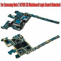 3G 16GB Motherboard Pour Samsung Note 2 N7100 3G Mainboard Logic Board Unlocked