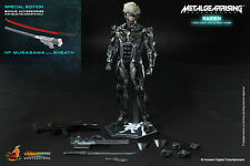 "HOT TOYS Metal Gear Rising: Revengeance Raiden 12"" Figure Special Edition"
