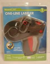 New Listingmonarch Pricemarker Model 1131 1 Line Labeler 925072 Up To 8 Characters