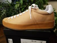 RAG & BONE MEN'S RB1 LOW TOP LEATHER CUOIO SNEAKERS TAN SIZE 9