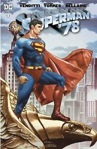 SUPERMAN 78 #1 MICO SUAYAN EXCLUSIVE VARIANT