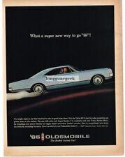 1965 Oldsmobile Delta 88 Vtg. Print Ad
