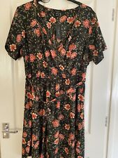 Floral Dress New Look Size 26 New With Tags