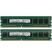 Samsung 8GB (2x 4GB) 1Rx8 PC3-14900U DDR3-1866Mhz Low Density Desktop Memory RAM
