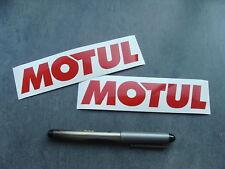 2x stickers auto moto Motul 14cm decals pegatinas aufkleber car Bike A24-027