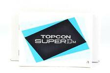 Topcon Super Dm Instruction Manual User Guide English (126)