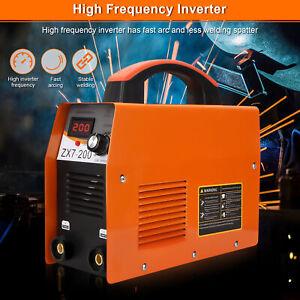 ARC MMA-200Amp Orange Inverter Stick Welding Machine Set Inverter Stick Welder