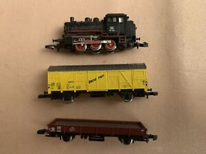 Marklin Z Scale Freight Train Set and items