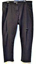 plus sz XL / 24 VIRTU TS TAKING SHAPE The Stylist Jeans stretch black denim NWT!