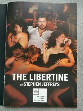 More details for the libertine, dominic cooper,  london theatre text and programme 2016