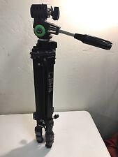 SLIK Universal U-212 Camera Tripod w/3 Way Pan/Tilt Head and Quick Release